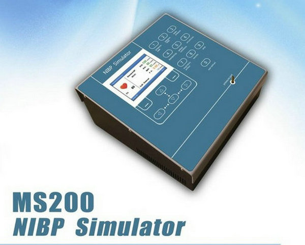 CONTEC MS200 NIBP Simulator Non-Invasive Blood Pressure simulation COLOR LCD,NeW цена