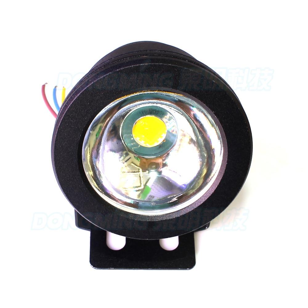 Led Lamps 10pcs Black Cover Ac85-265v Flat Lens Led Underwater Light White/warm White Underwater Led Lamp Ip68 10w Pool Led Flashlight Activating Blood Circulation And Strengthening Sinews And Bones