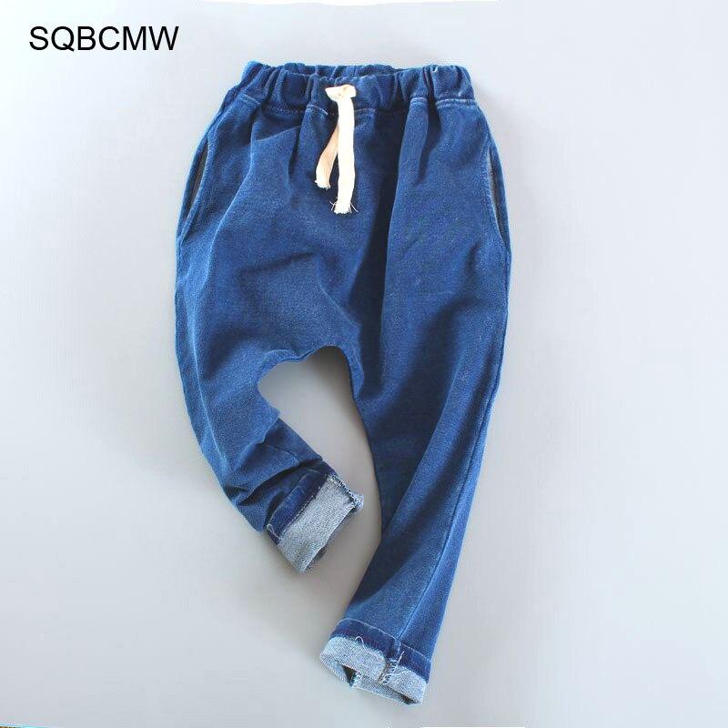 2020 moda meninos calças crianças primavera outono calças jeans para bebê menino calças casuais