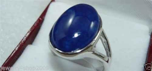 ร้อนขาย>@@ราคาขายส่ง16new ^^^^เครื่องประดับหยกสีฟ้าขนาดแหวนผู้หญิง's 8-เจ้าสาวเครื่องประดับจัดส่งฟรี