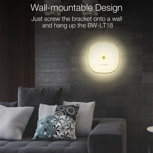 Image 5 - BlitzWolf BW LT18 الذكية لفتة التحكم الاستشعار 2800 3200K LED ضوء الليل RGB عكس الضوء السرير المحيطة مصباح ستبليس يعتم