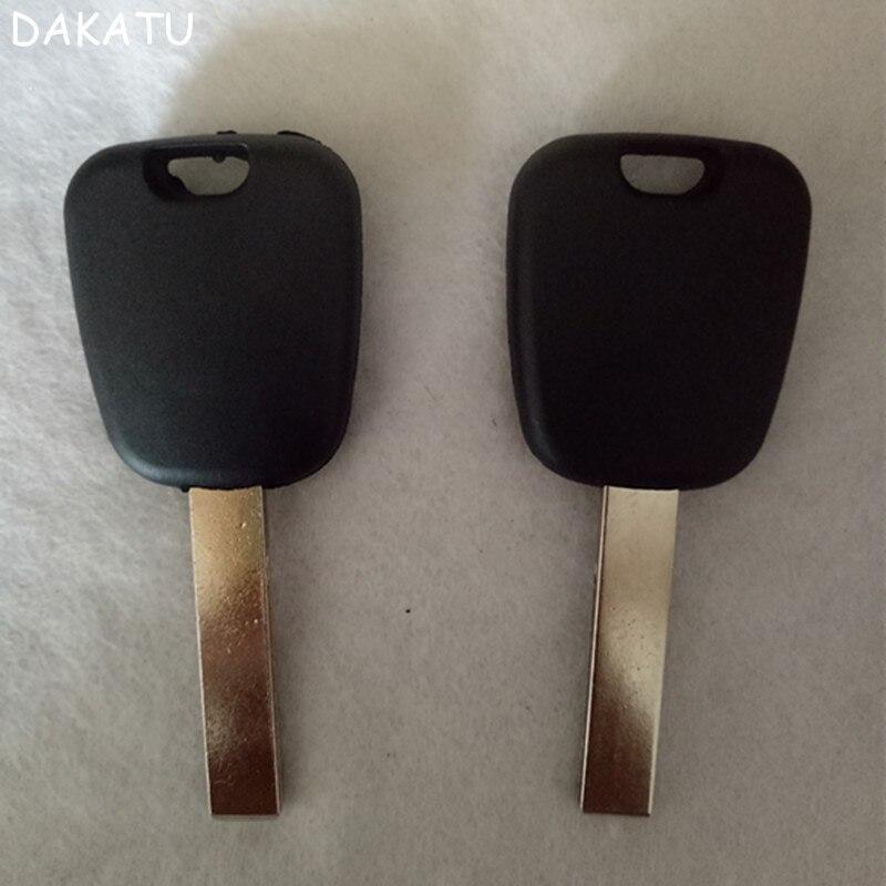 DAKATU Blank Replacement Transponder Key Shell For Peugeot 307 Citroen C2 triumph C4L Car Key shell