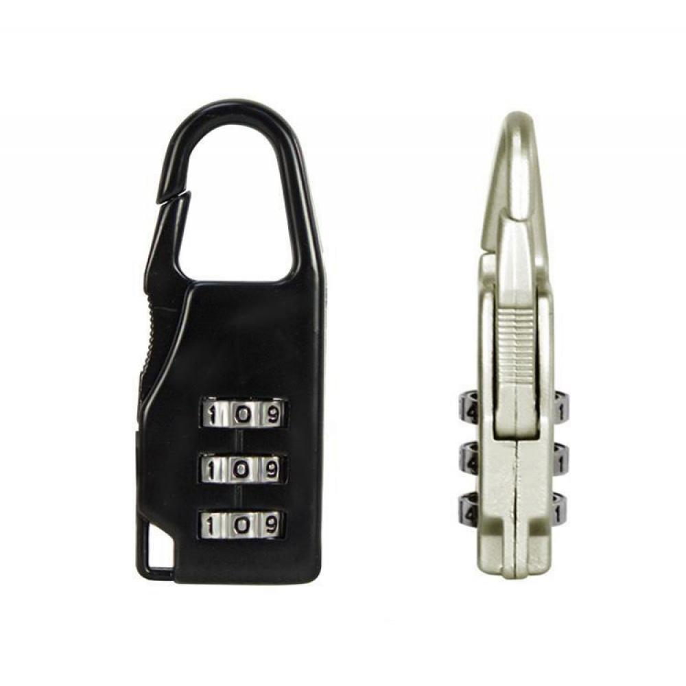 Hot Sale High Quality Mini 3 Digit Dial Resettable Combination Travel Luggage Suitcase Lock Padlock Travel Accessories