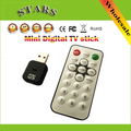 Mini USB 2.0 Digital terrestrial video Radio TV Stick Tuner Dongle Receiver Recorder with Remote Control for PC Laptop HDTV