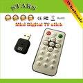 Mini USB 2.0 Gravador de Rádio de vídeo Digital terrestre Receptor de TV Tuner Vara Dongle com Controle Remoto para PC Portátil HDTV
