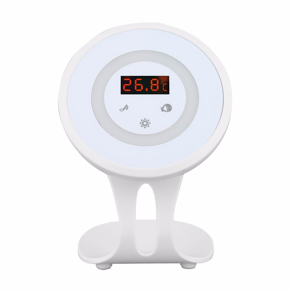 Multifunctional Detector Wireless Doorbell Alarm with the Function of Welcome Burglar Alarm Doorbell Night Light cx007 multifunctional anti full range all round detector alarm