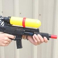 Creative Beach Intelligence Plastic Play Water Kids Submachine Gun Toys for Children Shooting Water Gun Toys Powerful Shooting