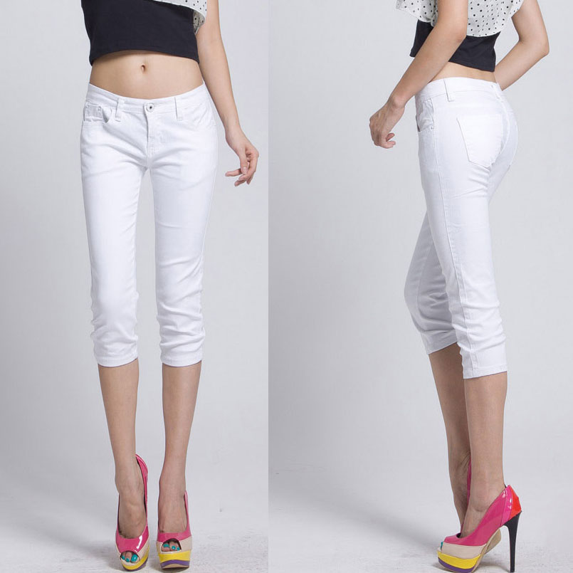 Compare Prices on White Capri Pants- Online Shopping/Buy Low Price ...