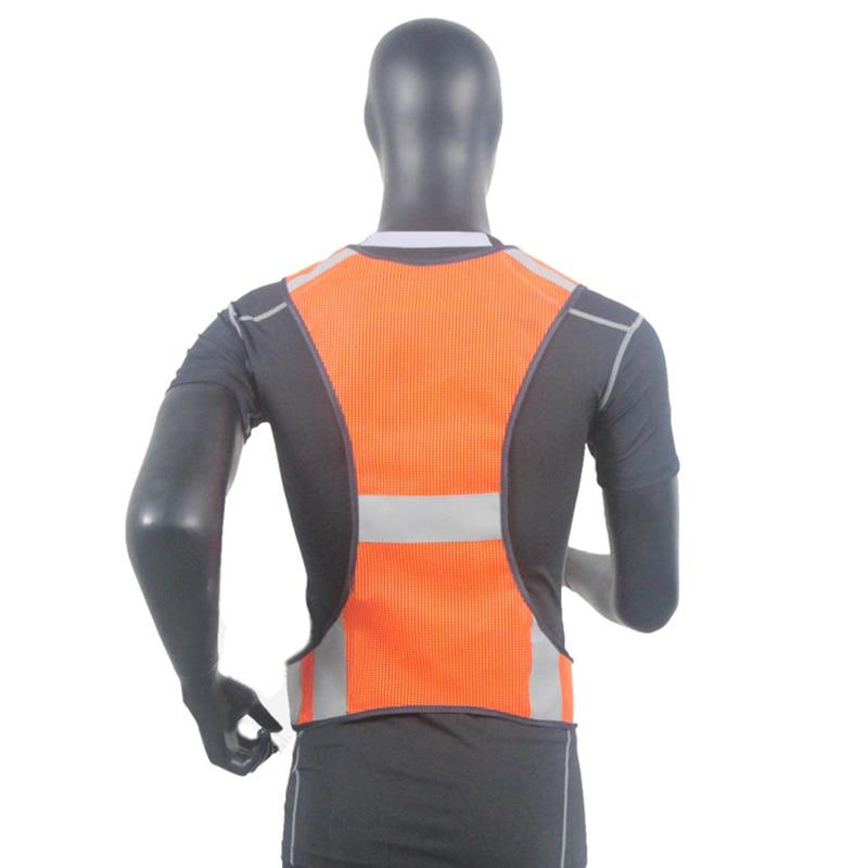 Chaleco reflectante de alta visibilidad para correr Chaleco de malla - Ropa deportiva y accesorios - foto 5
