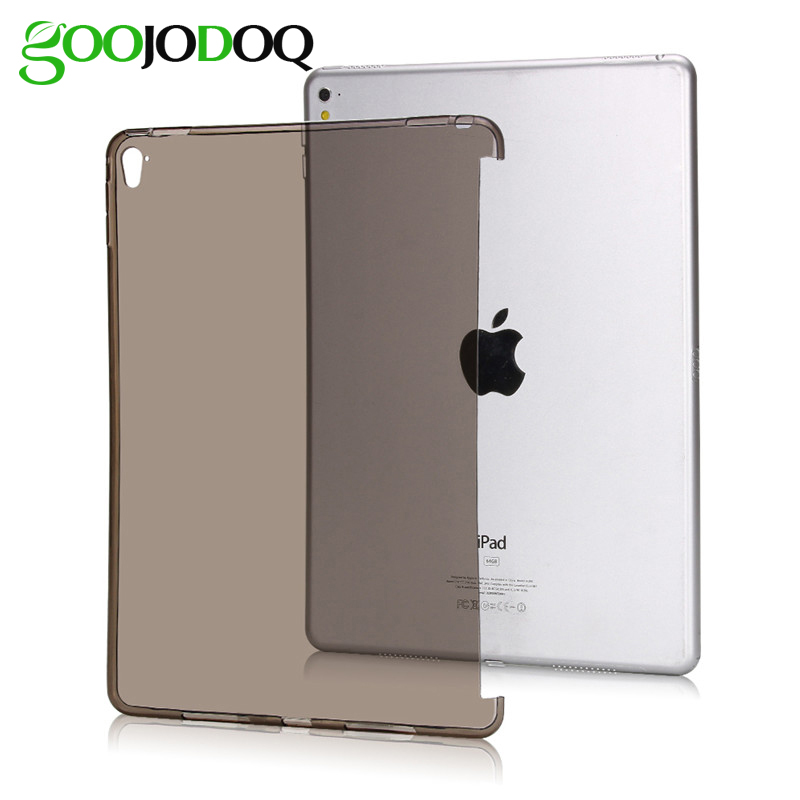 Case for iPad Pro 9.7 INCH TPU Soft Silicone Case Transparent Shell Protective Skin for iPad Pro 9.7 / 7 Tablet Back Cover Coque case for ipad air 2 pocaton for tablet apple ipad air 2 case slim crystal clear tpu silicone protective back cover soft shell