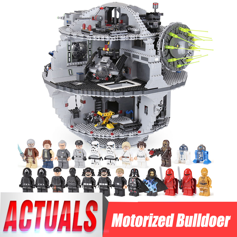 New DHL 05063 4116Pcs UCS Death Star Rogue Model One Set Building Blocks Bricks Wars 79159