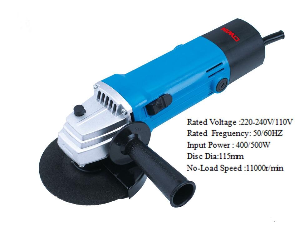 все цены на Multifunctional 500W Electric Angle Grinder Power Cutting Polishing Sanding Grinding Tool Useful Handle Household Power Tools онлайн