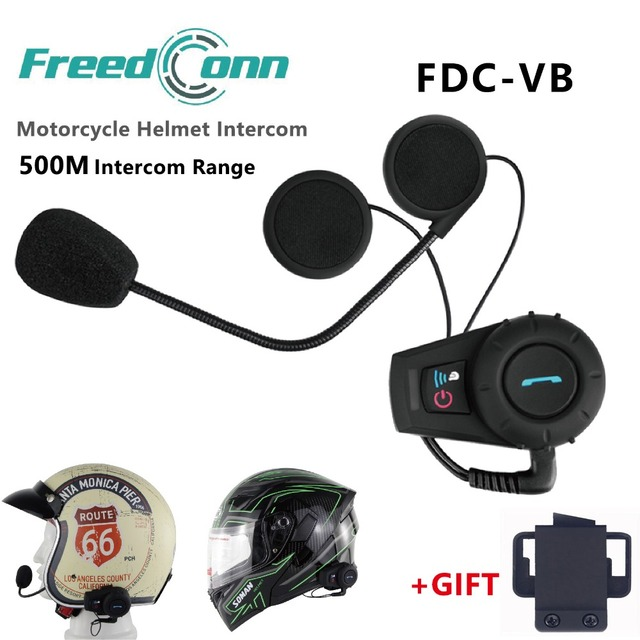 4b5c1638f7d Freedconn 500 m Moto Interkom Motosiklet Kask Interkom Kulaklık Bluetooth  Interkom Spor Kask Setleri FM Radyo