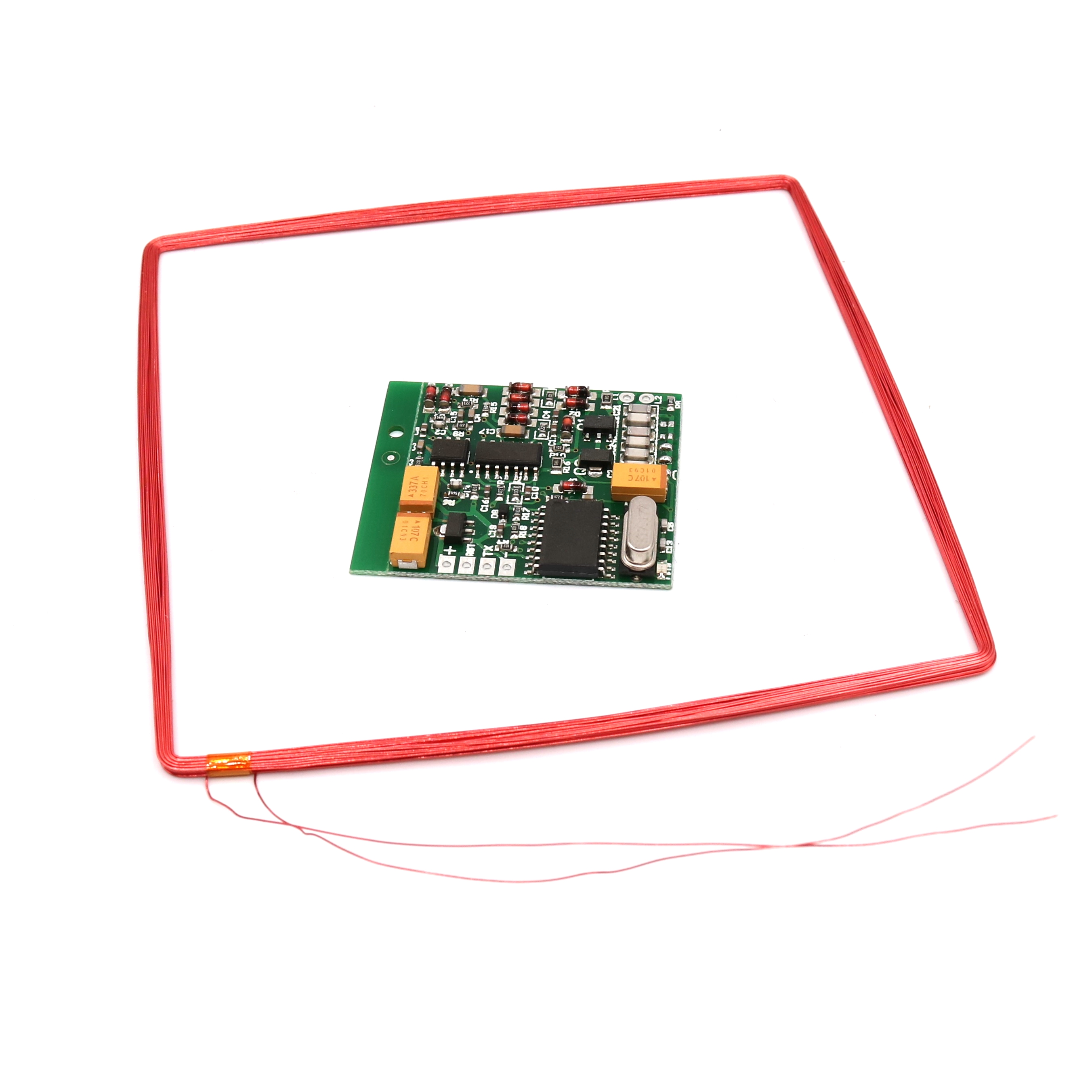 134.2K Long distance RFID AGV Animal Tag Reader Module TTL Interface ISO11784/85 FDX-B
