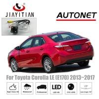 JIAYITIAN rear camera For Toyota Corolla E170 LE 2013~2017 CCD Night Vision License Plate camera Reverse Camera backup camera