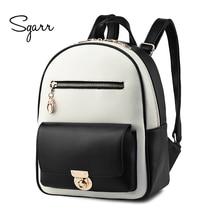 Sgarr бахрома рюкзак Дамские туфли из PU искусственной кожи Drawstring школьная сумка для подростков модная одежда для девочек леди дорожная сумка Повседневное Рюкзак Mochila