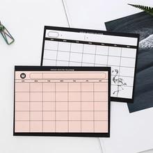 Criativo simples mesa de trabalho cronograma mês lágrima plano nota livro eficiência do trabalho resumo plano memorando almofada