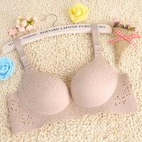 Luxury Women Push Up Bra Women Sexy Wireless Bra Adjust Strap 3 4 Cup Nursing Underwear