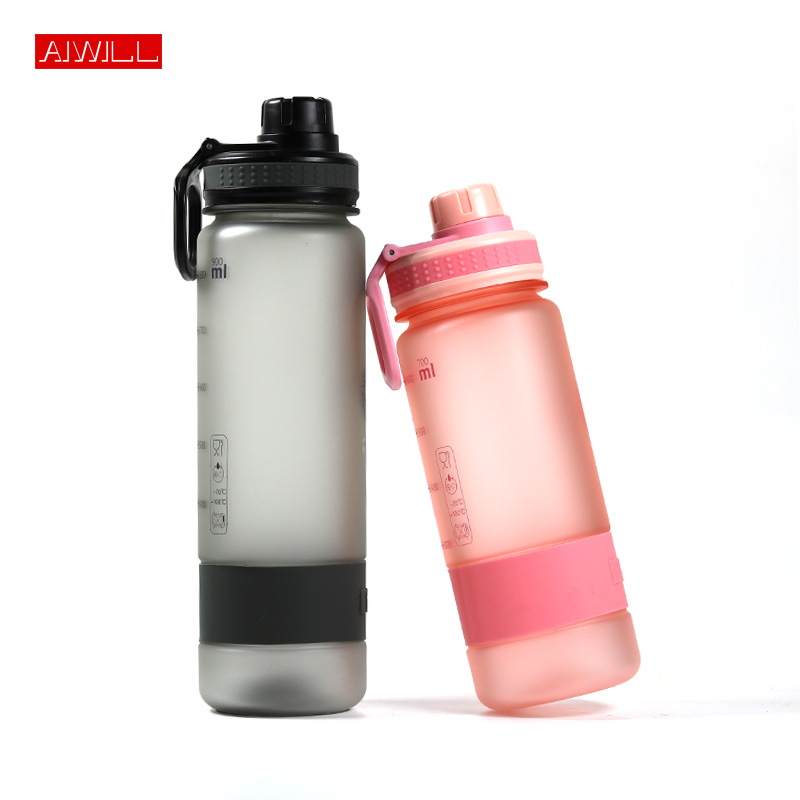 AIWILL Healthy Outdoor Hiking Tour Climbling Camp Tritan Material Plastic Sport water bottle BPA FREE for men women cute gift