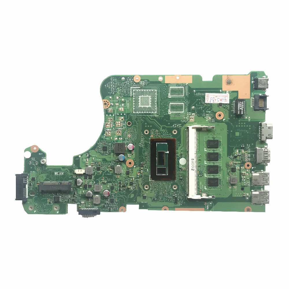 Excellent for ASUS X555LAB X555LD Laptop Motherboard Mainboard with I5-5200U CPU 4GB RAM DDR3L 100/% Working
