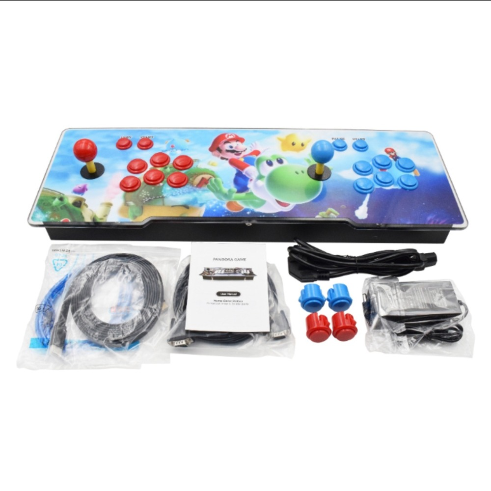 3D Pandora treasure Box 2 player 2350 HD Retro Games  Arcade Game Console 1920x1080 Full HD for PC/Laptop/TV/PS Controller (SNK)