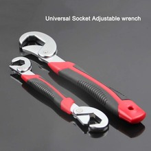 High Quality Universal Socket Adjustable wrench Open end wrench 2 PCS snap n grip tool Spanner F14 prostormer multifunction universal wrench double end wrench set 2 pcs snap and grip adjustable wrench high torque 9 32mm spaner