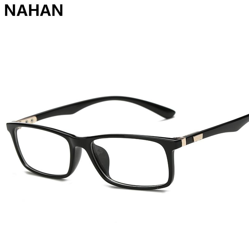 6e2f60cb742b72 TR90 Carré Monture de Lunettes de lunettes pour Femmes de Lunettes Optique  En Plastique Titanium Objectif Clair Transparent Lunettes pour Femmes