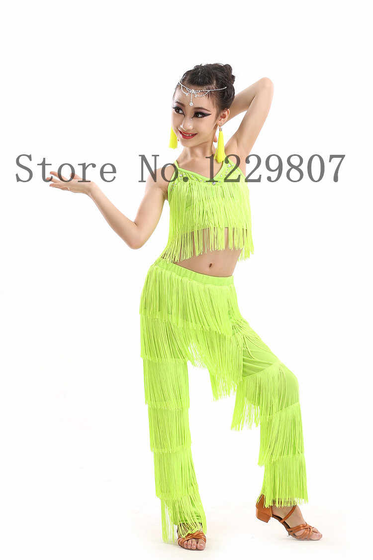 73237c74e ... latin dance dresses for sale ballroom plus size fringe tassel dress  pants sequin fringe salsa samba ...