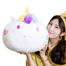 Unicorn Stuffed Animals Toys As Blanket Decoration Bedroom Room Decor Pillow Plush Toy Kawaii Soft Cute Girl Licorne