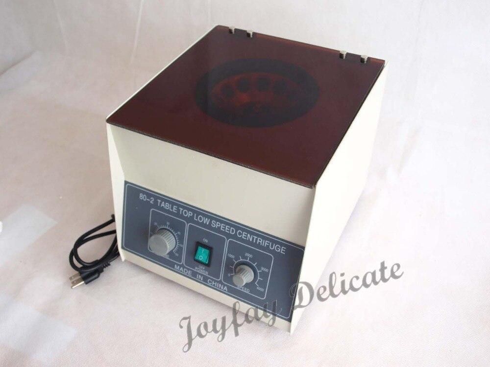 80-2 Electric Centrifuge Lab Medical Practice 4000 rpm 20 ml x 12