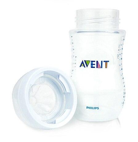 أفانت الطبيعية زجاجة تستخدم في الرضاعة أفانت زجاجات الفم واسعة 1 م +/9 أوقية 260 مللي العلامة التجارية الجديدة 3