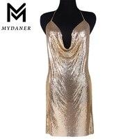 MYDANER 3 Màu Sắc Kendall Jenner Phong Cách Ăn Mặc Chainmail Bọc Choker Necklace Áo Ngực Chuỗi Thời Trang Phụ Nữ Ăn Mặc Mặc Đồ Trang Sức Cơ Th