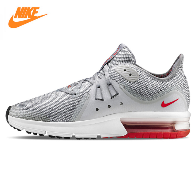 2494455ee Nike Air Max Sequent 3 Men's Running Shoes ,Light Gray, Shock Absorption  Wear Resistant Non-slip Breathable 921694 060