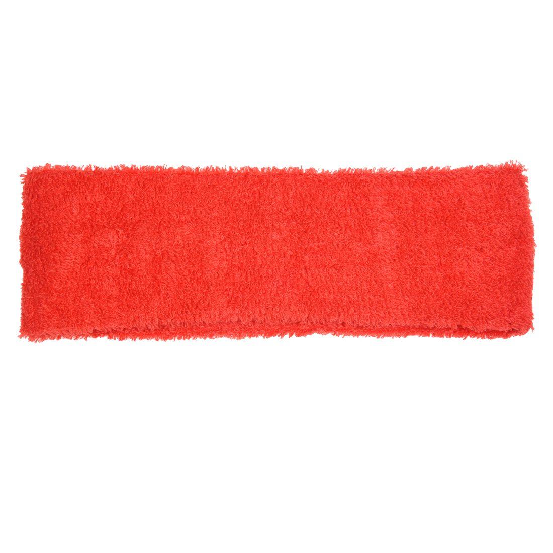 Hair Headband sweatband Stretchy band women / men in red