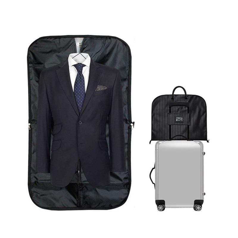 Ev ve Bahçe'ten Giyim Örtüleri'de Erkek giyim kapakları saklama torbaları toz askı organizatör ev ürünleri taşınabilir seyahat takım elbise ceket konfeksiyon aksesuarları title=