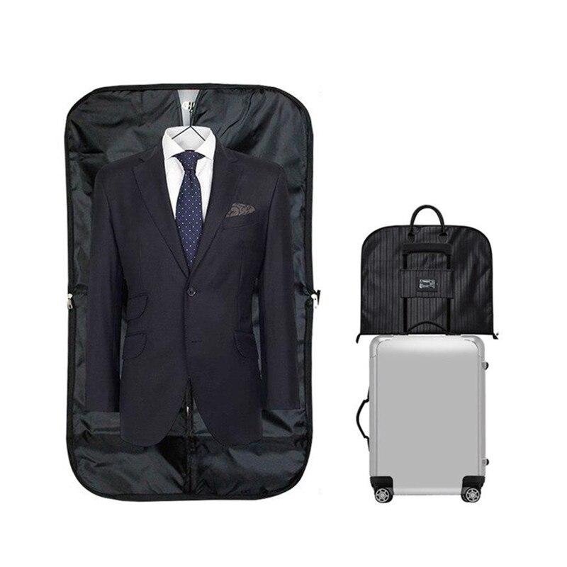 Men's Clothing Covers Storage Bags Dust Hanger Organizer Household Merchandises Portable Travel Suit Coat Garment Accessories