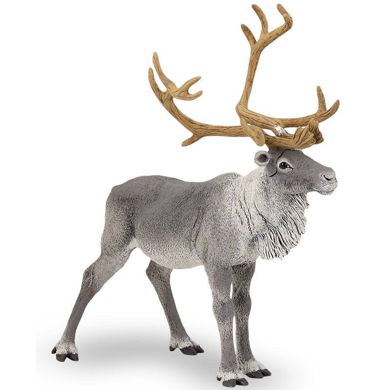 Papo wild animal plastic reindeer model toy reindeer