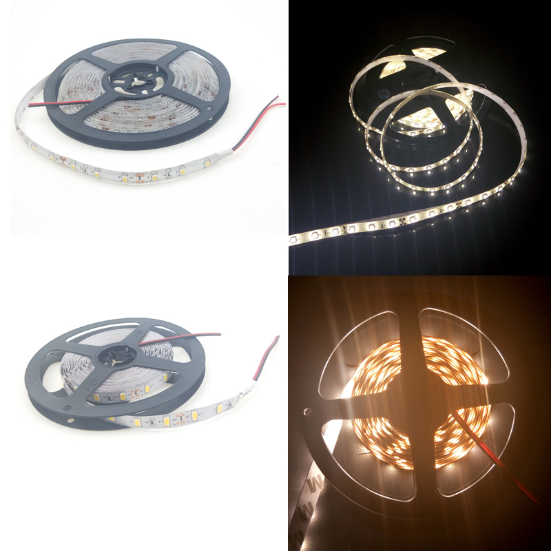 Fita LED 5m 12 Volt Strip Light 3014 5050 3528 5630 60leds/m 120leds/m Flexible Tira WW Red Blue Color Waterproof IP65 IP67 IP20 10pcs 2 pin connector for non waterproof 3528 3014 8mm ip20 led strip connection perfect for 120leds strip