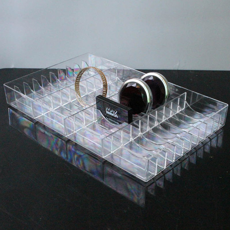 Acrylic High Quality Bracelet Display Box Jewelry Tray Holder Anklet Storage Case Bangle Showcase Make-up Box