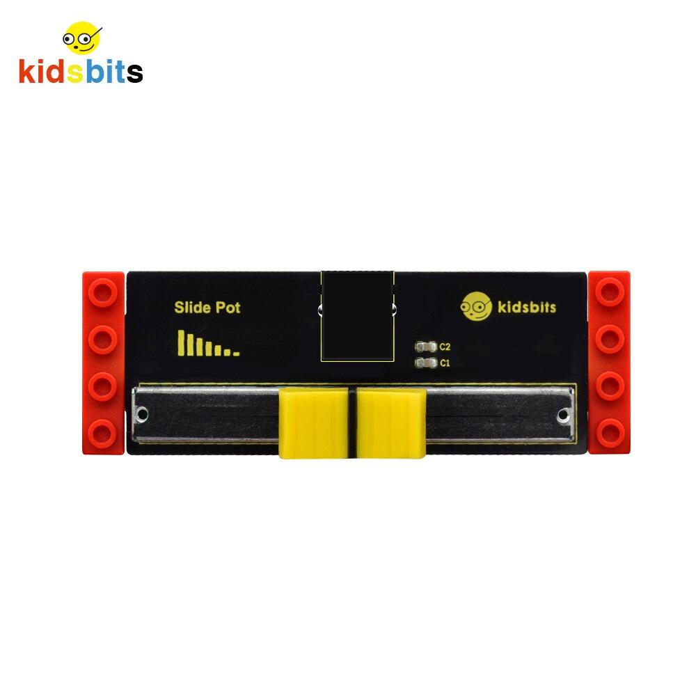 Kidsbits  Blocks Coding Slide Potentiometer SensorFor Arduino STEM