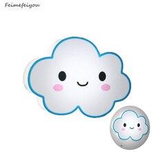 LED Modern Wall Lamps Children Baby Kids Bedroom Bedside Lamp Cartoon clouds Shape 90-260V Originality Novelty Light
