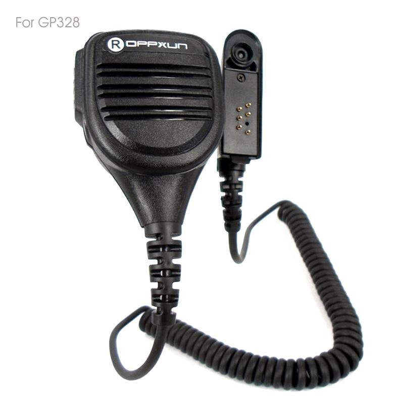 Handheld Speaker Mic Microphone For Motorola GP328 PRO5150 GP338 PG380 GP680 HT750 GP340 Walkie Talkie Two Way Radio