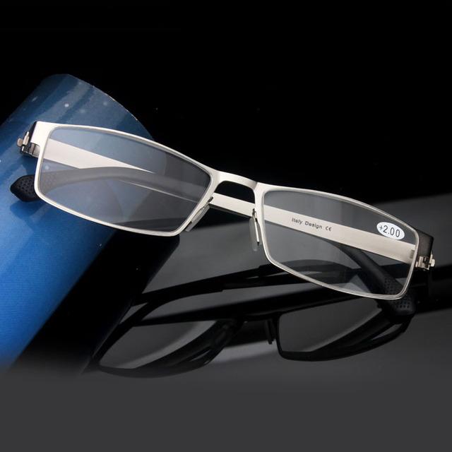 Itália Projeto Limpar Óculos De Leitura Mulheres Homens Óculos gafas de lectura Óculos Para Presbiopia oculos de grau Mais Velhos