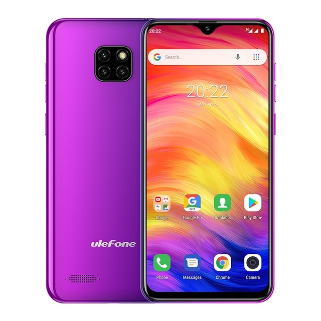 Ulefone Note 7 Smartphone 3500mAh 19:9 Quad Core 6.1inch  Waterdrop Screen 16GB ROM Mobile phone WCDMA Cellphone  Android8.1 4