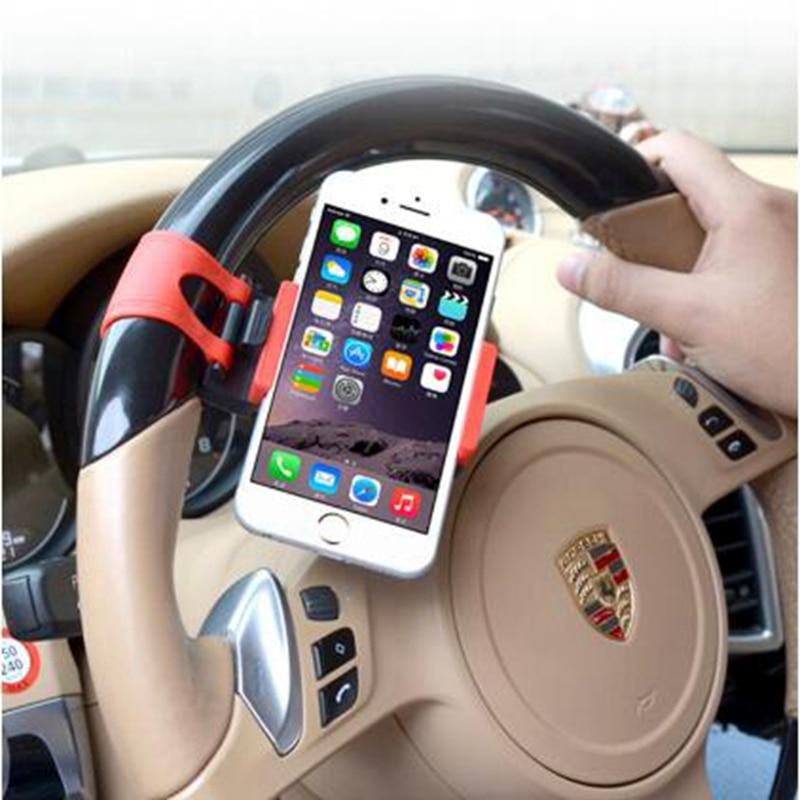new york 6c78c b139a US $1.37 40% OFF|Universal Car Steering Wheel Bike Clip Mount Holder Cradle  Bracket Car Holder For iPhone SE 6 Samsung Note 7 Car Styling-in Mobile ...