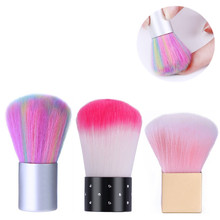 1 Pc Nail Cleaning Brush Acrylic UV Gel Powder Cleaning Pen Soft Nail Dust Remover Brush Painting Tools Nail Art Care Tool