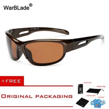 699e21ce46 Gafas De Sol polarizadas De marca WarBLade 2018 para hombre Gafas De Sol De viaje  para conducir Gafas De golf Gafas De Sol KP1007