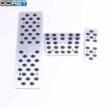 Gorst at 브레이크 풋 레스트 페달 for audi a4 a5 a6 a8 q5 라인 로고 포함 무료 배송