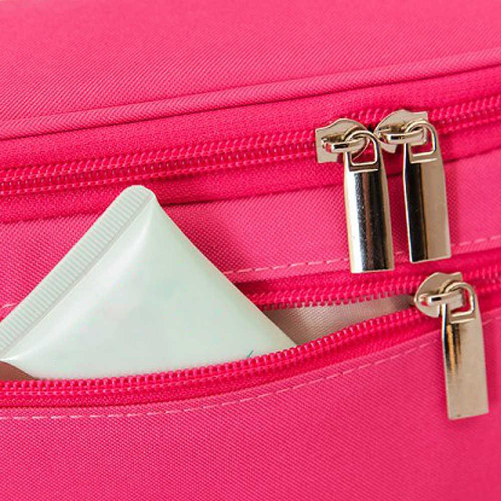 Treo Rửa Túi Di Động Trang Điểm Túi Đựng Du Lịch Túi Vệ Sinh Công Suất Lớn Phụ Nữ Mỹ Phẩm Ốp Lưng Người Tổ Chức Cho Phòng Tắm