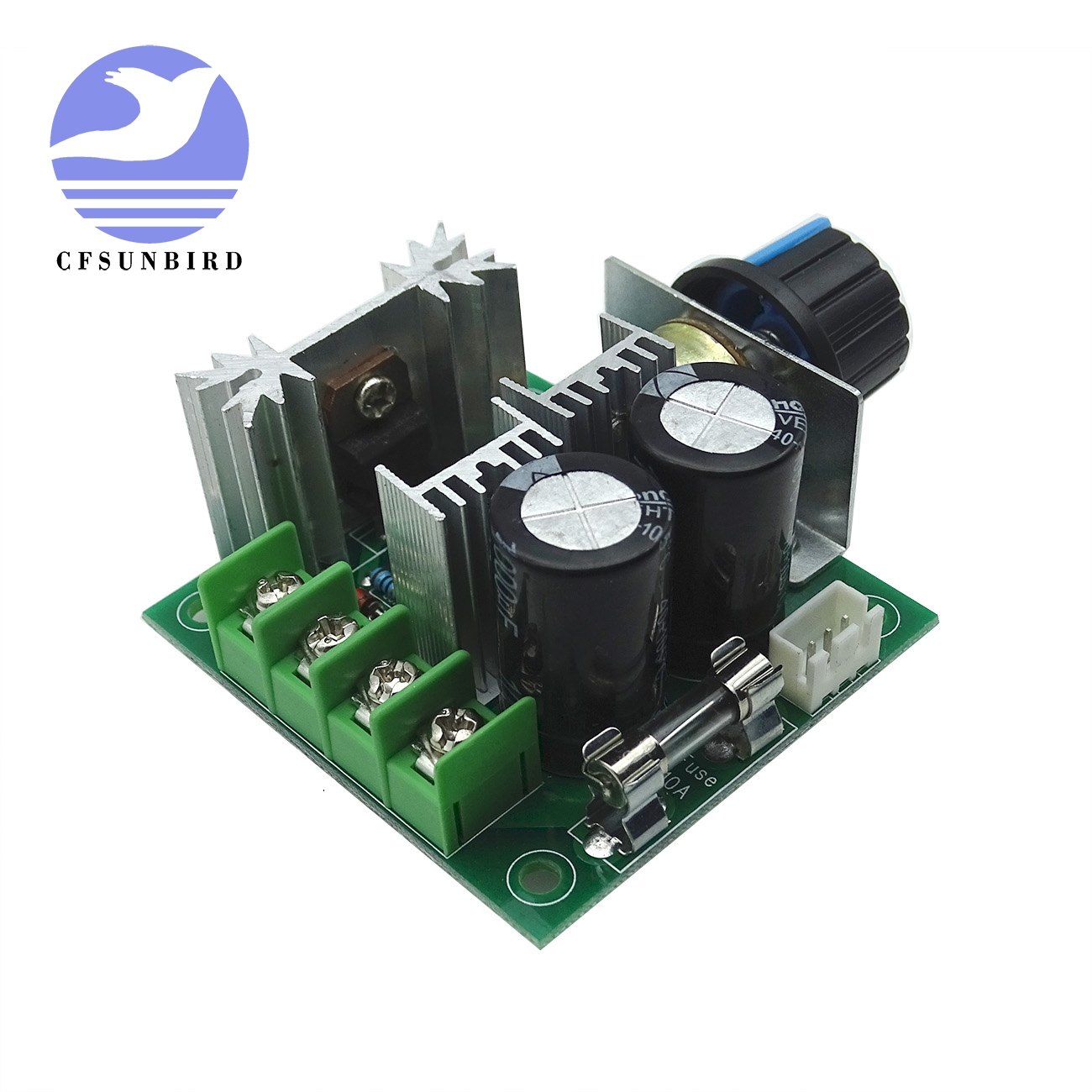 1pcs Cfsunbird Width Modulation 12v-40v 10a Pulse Pwm Dc Motor Speed Control Switch New More Discounts Surprises Electronic Components & Supplies